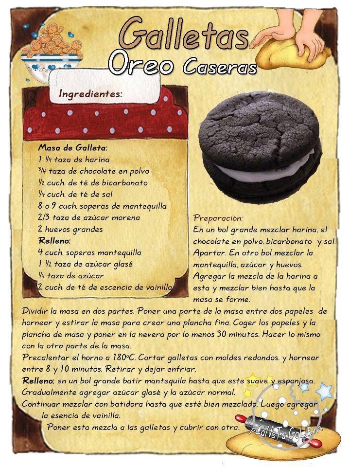 Cookies de Oreo.