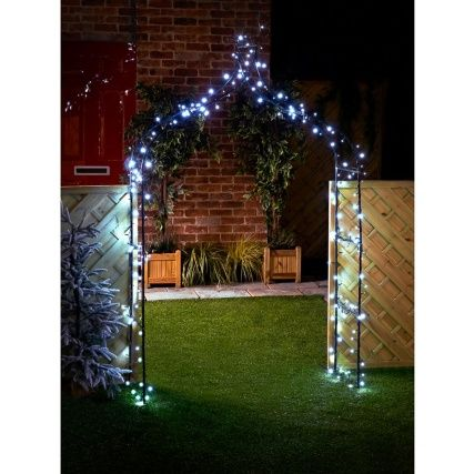 60 solar led string lights white create a stunning ambience in your garden with these bright led outdoor string lights garden solar lights