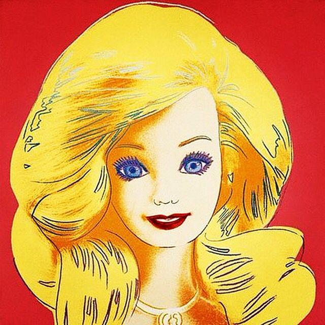 Andy Warhol Pop art Barbie