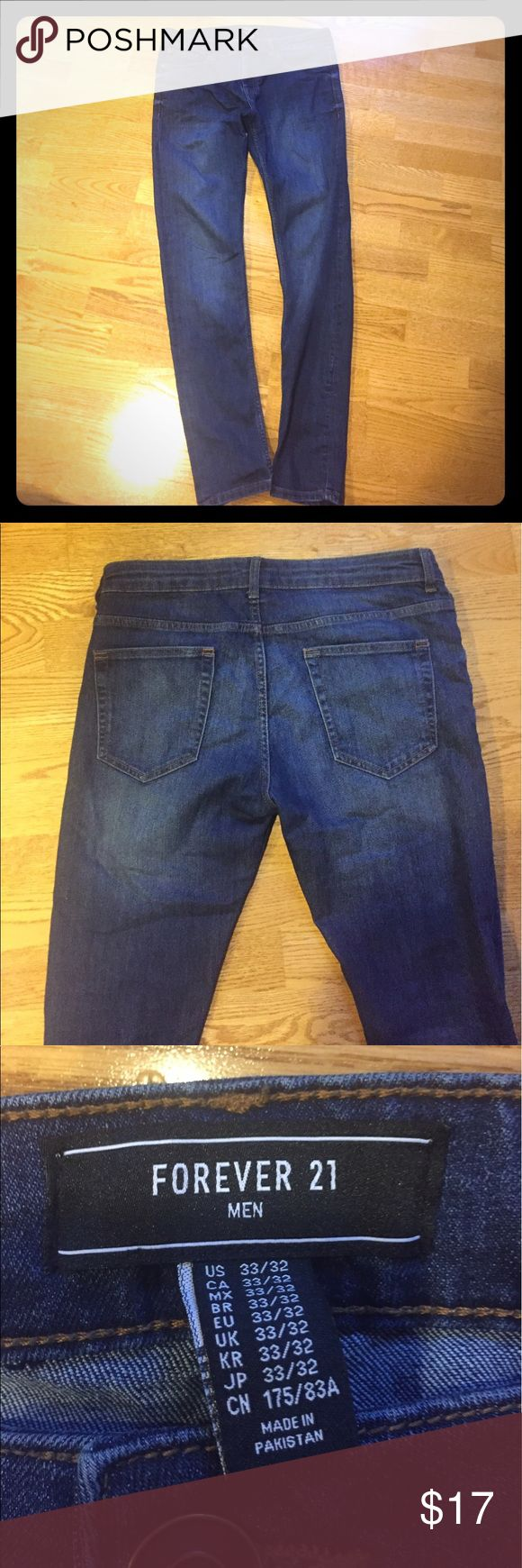 Mens skinny Jeans Forever 21 men's Skinny Jeans size 33/32 perfect condition Forever 21 Jeans Skinny