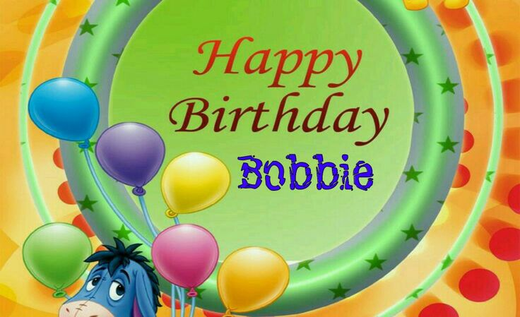 Happy Birthday Bobby Cake