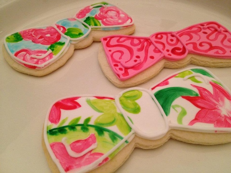 Lilly Pulitzer inspired Bowties