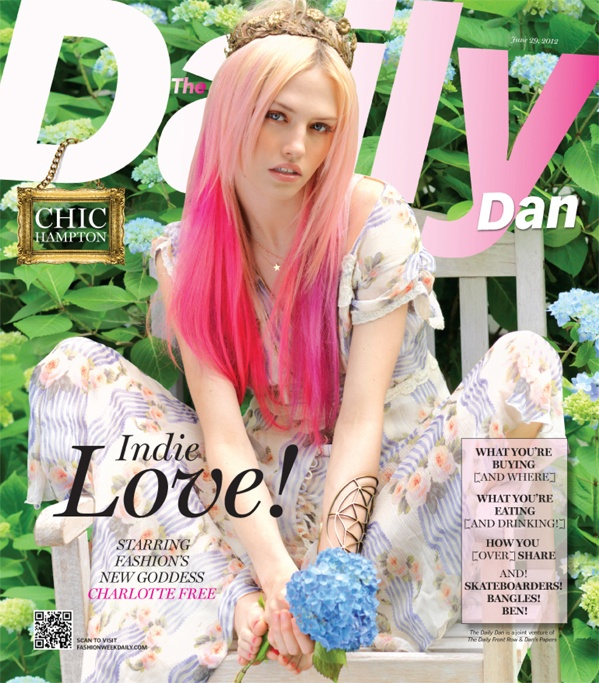Trendy Daily News: Pink Hair, Daily Front Row, Trendy Girl