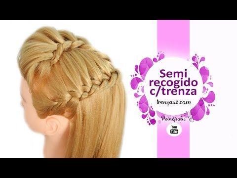 Peinados con Coletas con Trenzas de 4 cabos Faciles para Niñas Cabello Largo No hay nada mejor que los peinados sencillos que puedes hacer en unos cuantos mi...