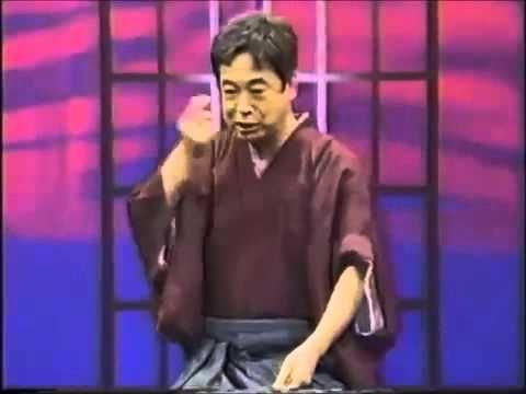 蟇の油(がまのあぶら) 立川談志 ~英語版付き~