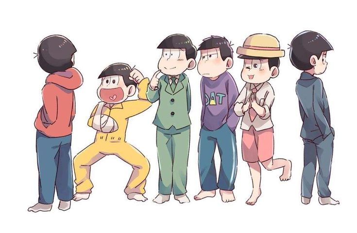 Osomatsu-san episode 24 if only this happened (kara isn't ready to face oso yet from what happened earlier :'( )