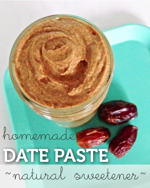 Make Your Own Date Paste {natural, whole food sweetener for smoothies, dressings and baked goods}
