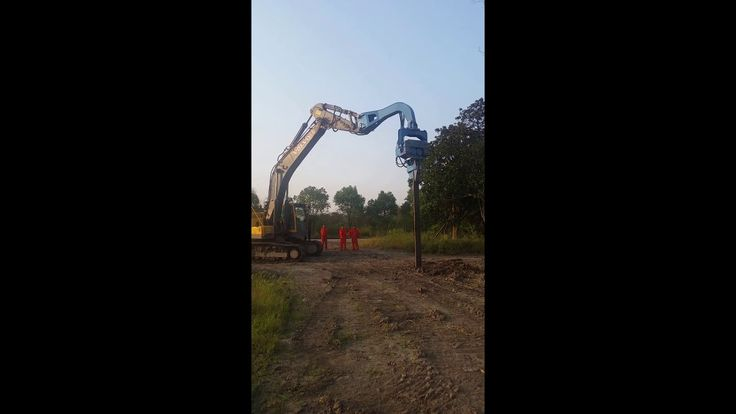Hydraulic Vibratory Pile Driver for excavator use