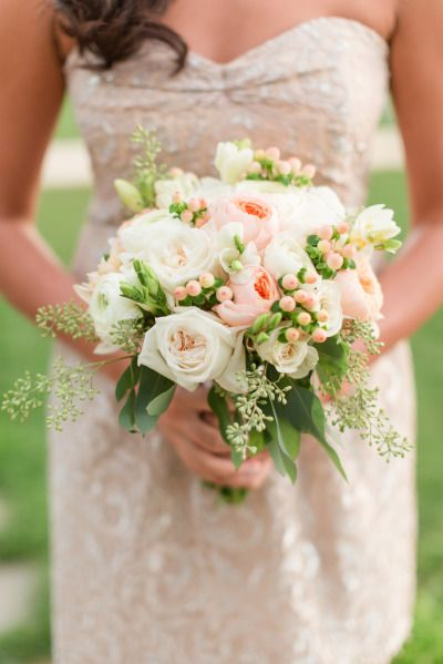 Bridesmaid bouquet: http://www.stylemepretty.com/little-black-book-blog/2015/04/10/romantic-summer-wedding-at-pippin-hill-farm-vineyards/ | Photography: Katelyn James - http://katelynjames.com/