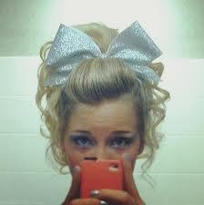 Cheer Hair..... The good ol' days!!
