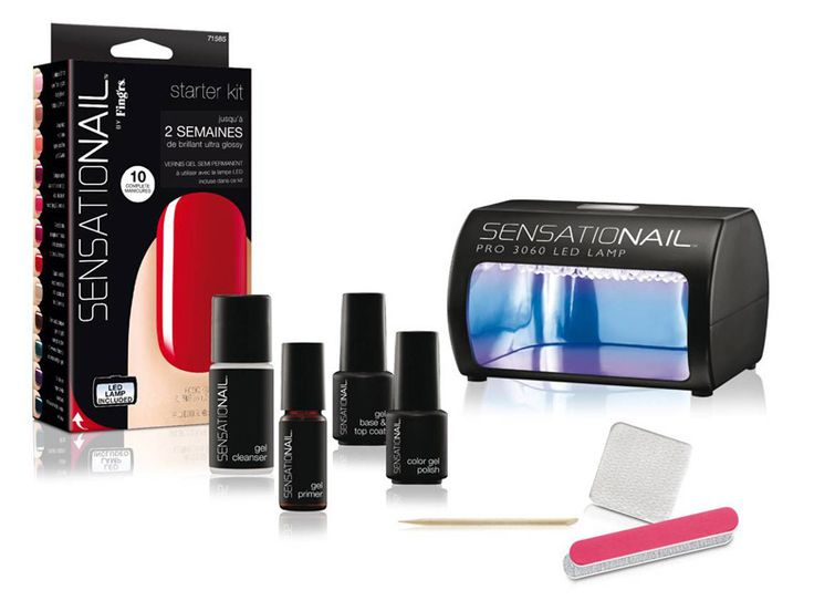 Le kit de vernis semi-permanent