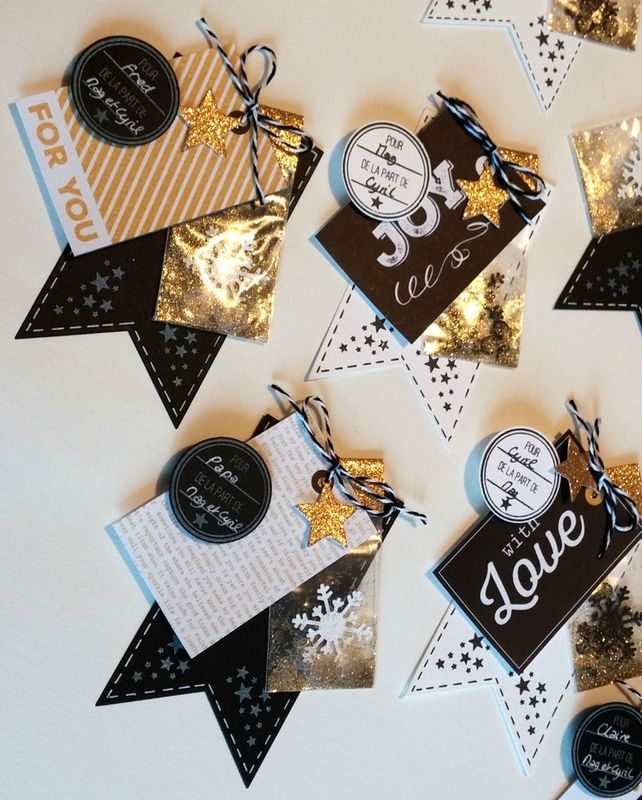 Black and gold sports embellishments