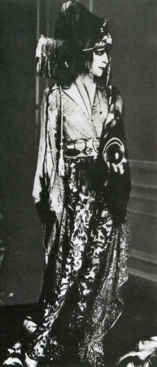 Luisa casati in a costume designed by paul poiret in 1913 | The House of Beccaria