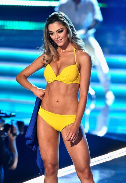 Demi-Leigh Nel-Peters Photos - Miss South Africa 2017 Demi-Leigh Nel-Peters competes in the swimsuit competition during the 2017 Miss Universe Pageant at The Axis at Planet Hollywood Resort & Casino on November 26, 2017 in Las Vegas, Nevada. - The 2017 Miss Universe Pageant