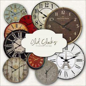 Friendly Scrap: Freebies Clocks Kit