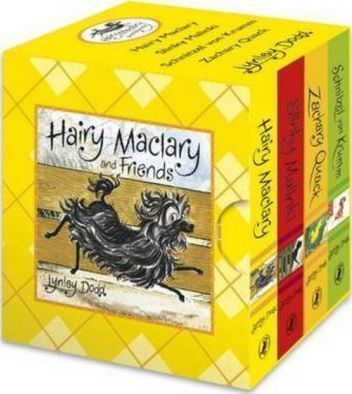An-introduction-to-the-many-adventures-of-Hairy-Maclary-and-friends-It-is-suitable-for-tiny-fingers-and-little-hands