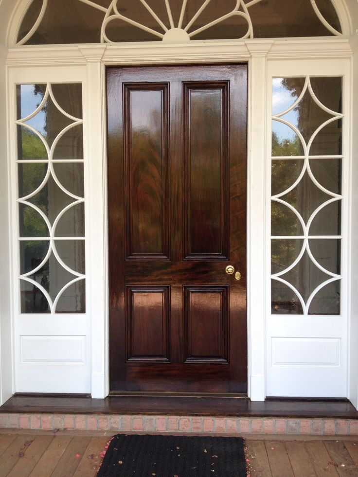 Fine paints of Europe yacht varnish creates such a great finish. & 8 best Front doors images on Pinterest | Entrance doors Front doors ...