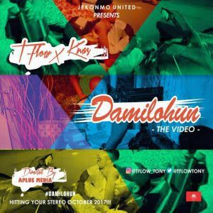 "[New Video Download] Tflow x Knas - Damilohun [Official Video]   Anthony Onwugbuezie popularly known as Tflow (da rap doctor) is a lafiaji born bred and based in Lagos island from delta state origin. He studied business administration .. At unilag after the success of his street anthem single ""Party Adugbo"" that featured Idowest of mafia gang hes back with ""Damilohun"" that features Awoo entertainment headline artiste Knas produced by Dyc and directed by Aplus concept. This is another…"