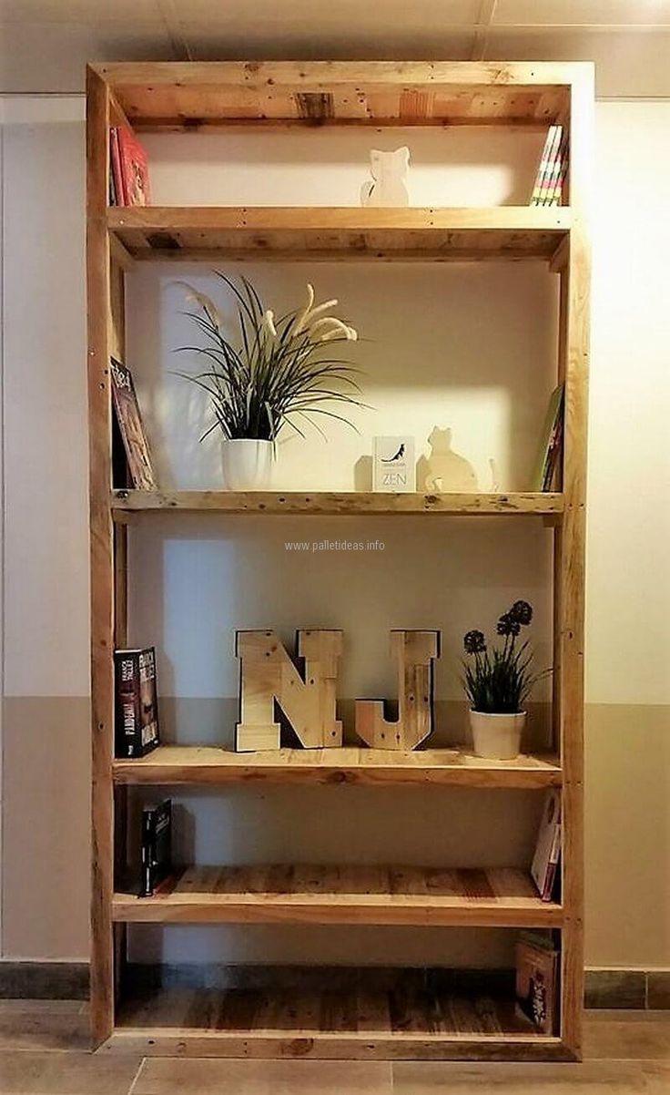 25 Best Ideas About Pallet Shelves On Pinterest Pallet