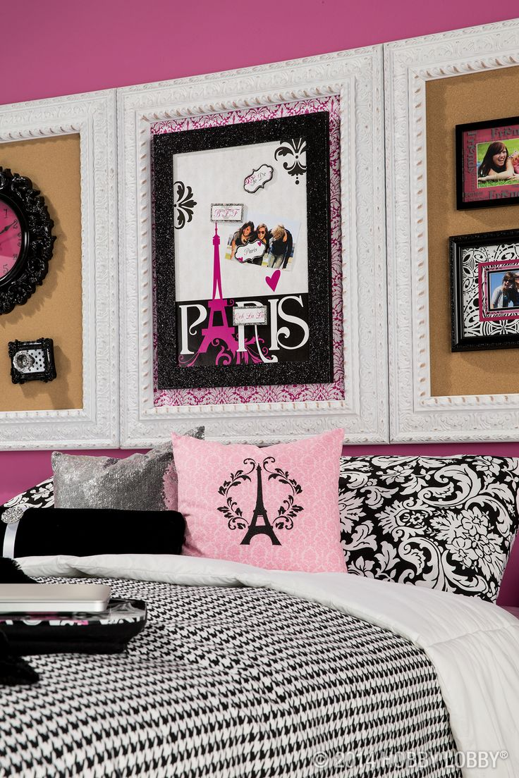 Give Your Tween Princess An Aww Inspiring Retreat With Classic Parisian  Colors (pink And