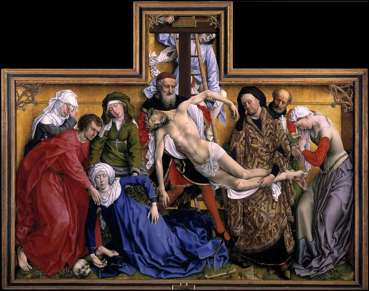 Rogier van der Weyden - A Descida da Cruz, Madri (1435)