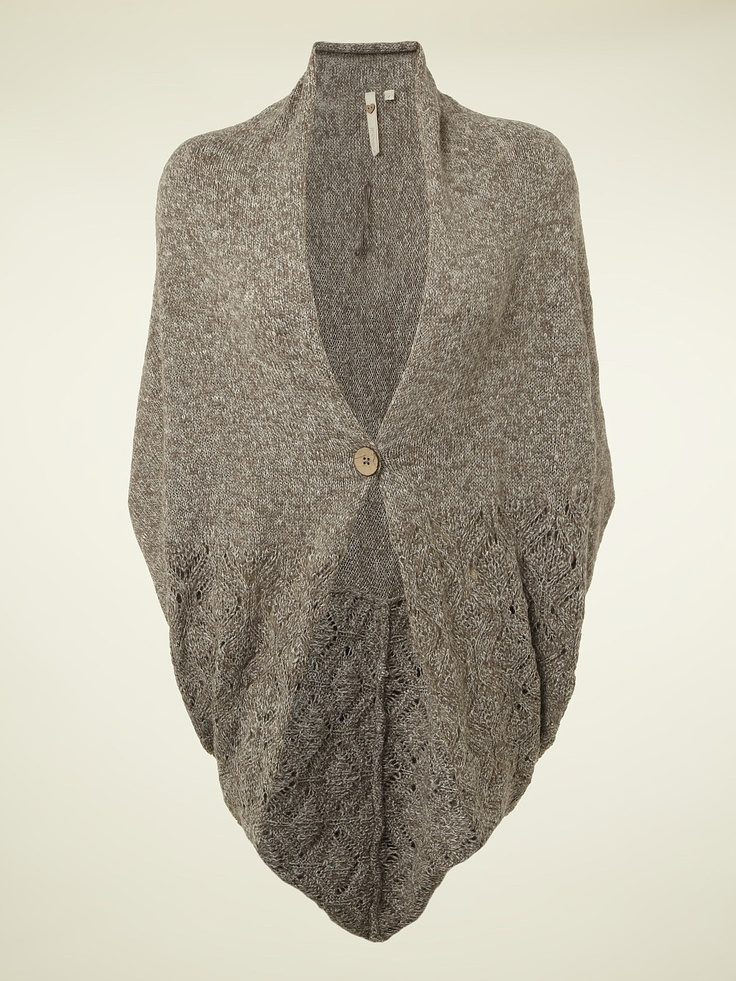 LEAF CARDI   knitwear   White Stuff