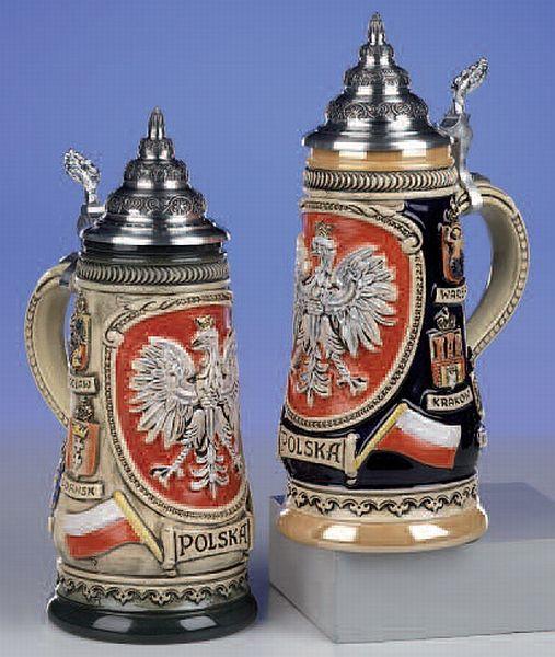 Poland Beer Steins