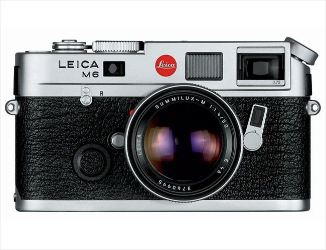 Leica-M6, recommended by Zach Braff in InStyle 2006