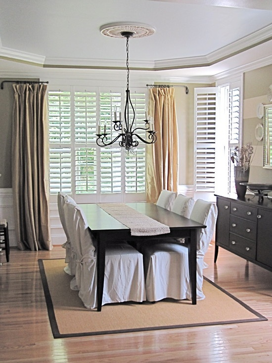 25 Best Plantation Shutters With Curtains Images On Pinterest Blinds Indoor