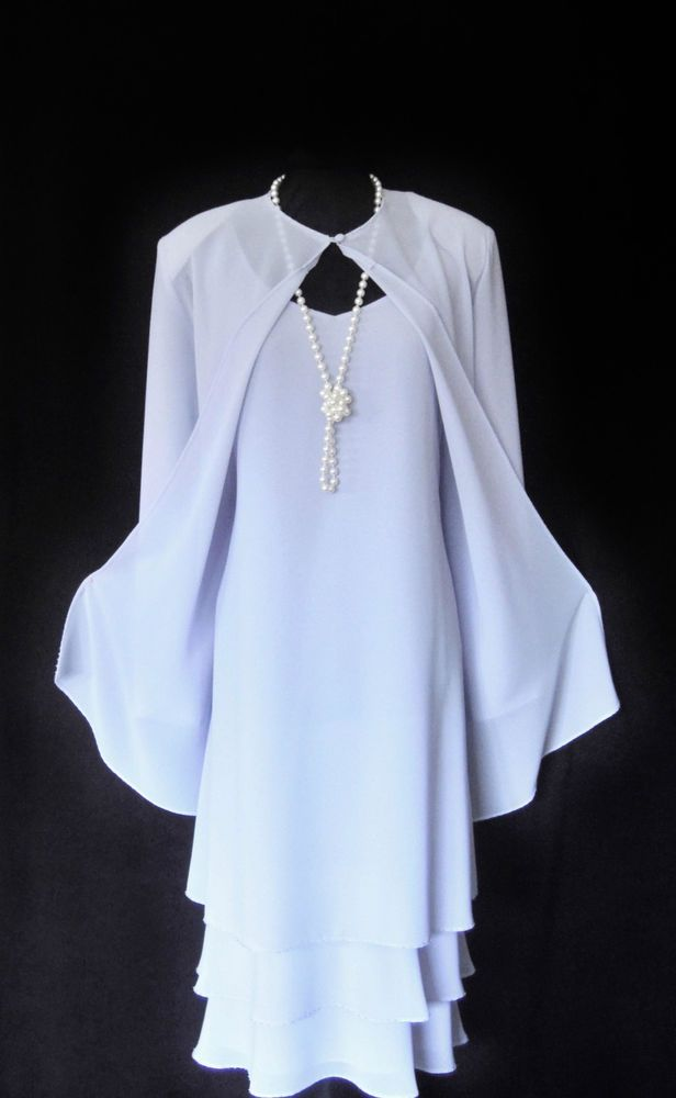 Bacconi Wedding Outfit Size 18 Lilac Dress And Jacket Suit