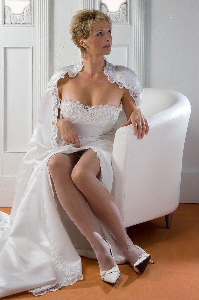 Milf In White Stockings  Nylon Ladies In 2019  Formal
