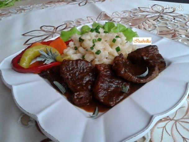 Nedeľný obed z hovädzieho mäsa...