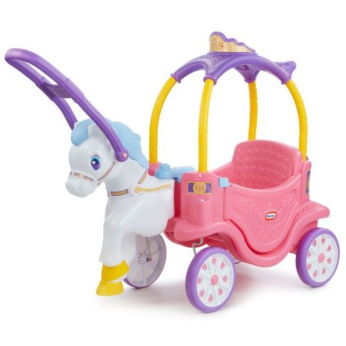 Little Tikes Princess Horse & Carriage ($99.99!) | Thrifty Littles