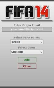 FIFA 14 Ultimate Team Coin Generator