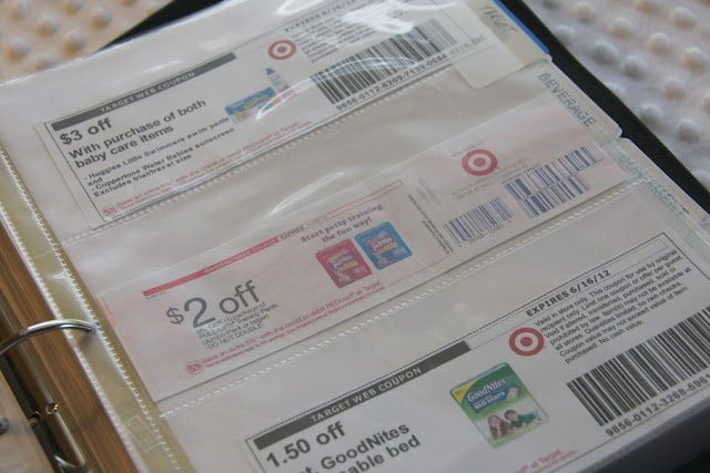coupon binder organizing tips