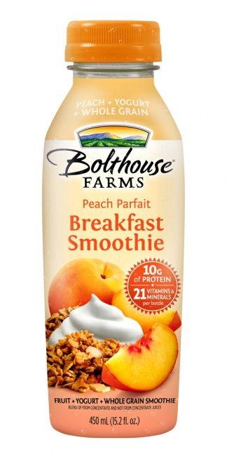 FoodBev.com | News | New Parfait Breakfast Smoothies from Bolthouse Farms