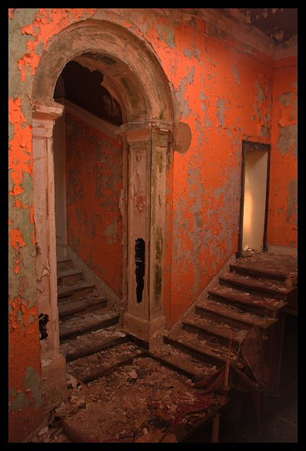 passages | pathways | trails | portals | steps | stairs | bridges | moving forward | Bramham House, England.