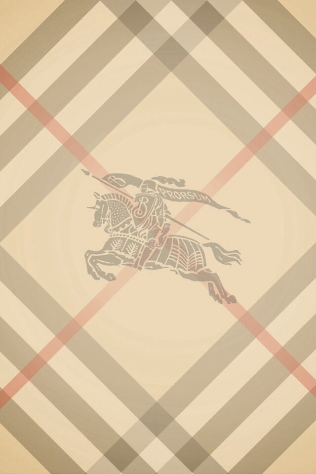 Burberry logo for your phones background. Maybe for the locked ...