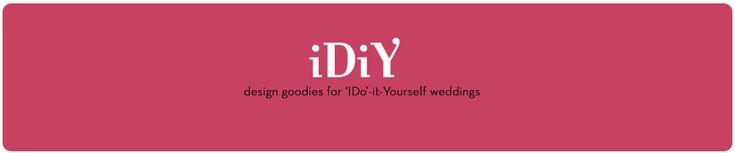 iDiy - Design goodies for 'I Do'-it yourself weddings