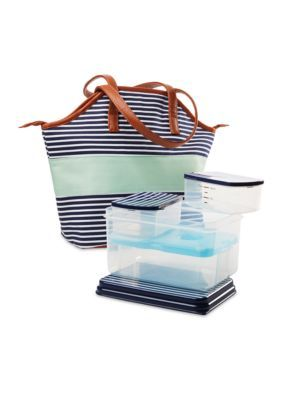 Fit  Fresh  Davenport Insulated Bag Kit with Lunch on the Go Container