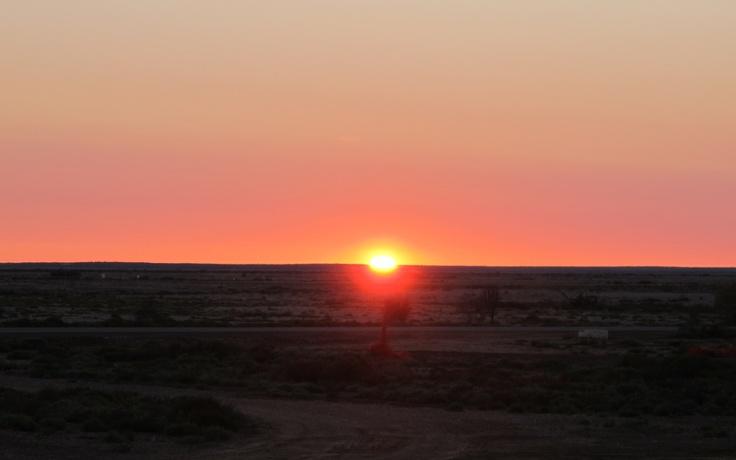 Dawn, Marree, South Australia.