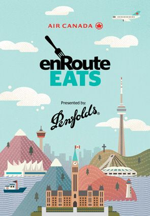 Splash screen of the enRoute Eats iPhone app