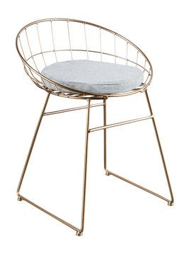 Kylie Wire Chair from Her Abode: Furniture on Gilt