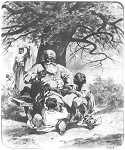 Zagłoba z małymi Skrzetuskimi 1885.
