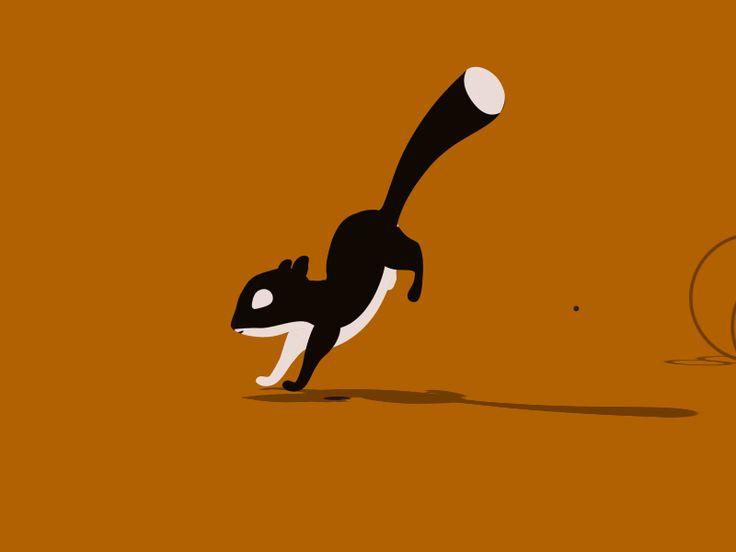 Love squirrels <3  Tumblr   Behance