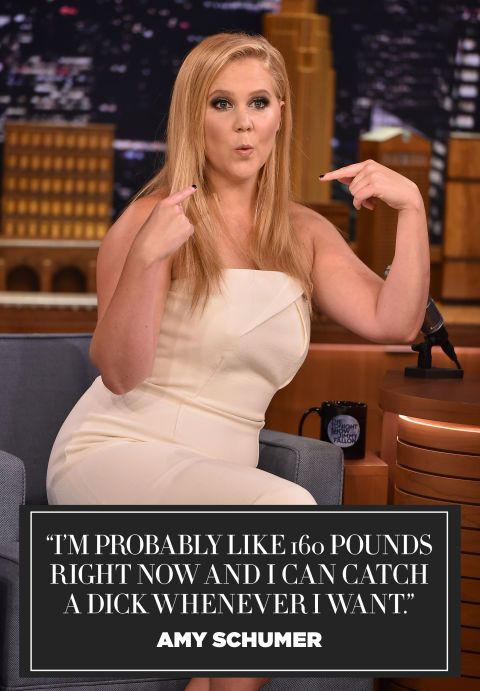 9 reasons why Amy Schumer is our favorite funny girl - in quotes.