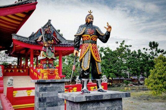 Warrior sculpture
