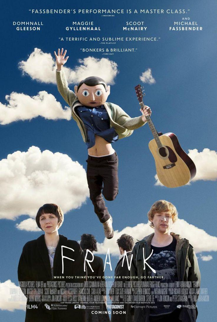 Frank puede ser muchas cosas y es ninguna. Podría ser un biopic al dedillo del Frank real o sobre el incomprensible mundo de la música