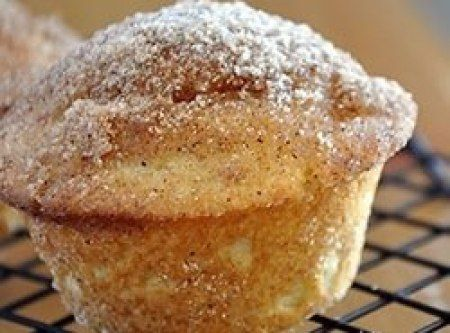 French Toast Breakfast Muffins Recipe These are amazing!! Taste exactly like French toast!!! Made with skim milk and light butter was only 121 calories a muffin if you make 12!