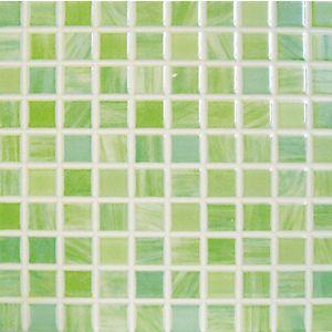 Piastrella Glass 20 x 20 verde mosaico 14.95€ al mq - €47.84